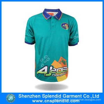 Man Summer Apparels Wholesale New Fashion Polo Shirt