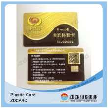 Gift Barcode Card/Gift Cards Magnetic Strip/Gold Gift Card