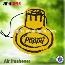Handmade absorbent car paper air freshener