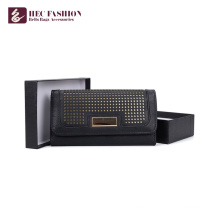 HEC Brand Names Korean Style  Purses Pvc PU Leather Material Wallet