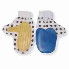 Mascotas lavado de guantes, guantes de cepillo de mascotas (YB2903)
