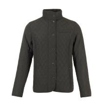 Casacos acolchoados pretos personalizados masculinos