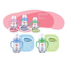 Varios botella de alimentación de bebé de vidrio borosilicato neutro