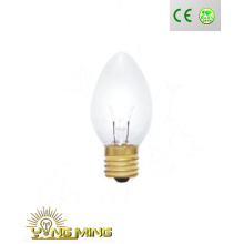 29mm E17 Clear Incandescent Candle Light with Factory Direct Sell