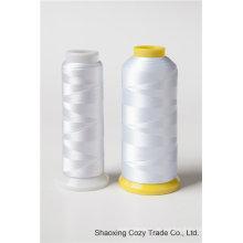 120d / 2 Rayon Viskose Stickerei Thread 5000y 5000m 4000m 4000y 3000m 3000y 2000m 2000y 1000m 1000y / Spule für Multi Head Stickmaschine