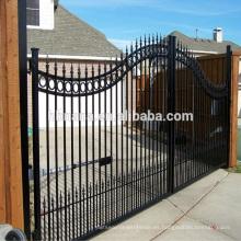 Las puertas de Filipinas cierran la cerca y el diseño de la puerta de la cerca de acero / la puerta doble grande