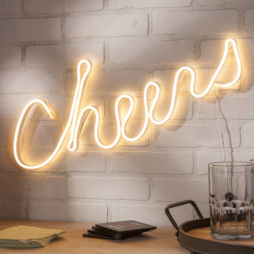 SEGNO AL NEON LED CHEERS