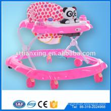Factory Multi-function Swivel wheels plastic baby doll toy walker /Rolling round kids walke for baby
