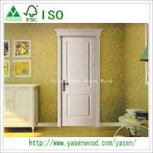Portes intérieures en bois de placage de Paiting naturel de la Chine