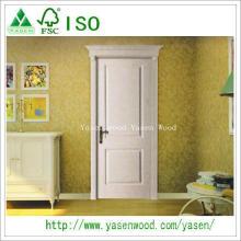 China Natural Veneer Paiting Wooden Internal Doors