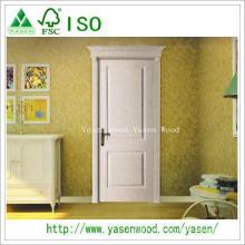 China Natural folheado Paiting portas internas de madeira