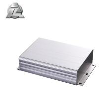 Invólucro eletrônico de alumínio 100x48 branco para dispositivo eletrônico