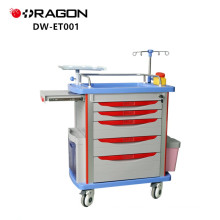 FDA Approved Function Medical ABS Contents Of Emergency Trolley Definition For Hospital