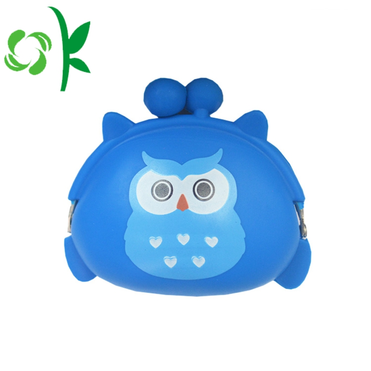 Qwl Shape Silicone Coin Bag
