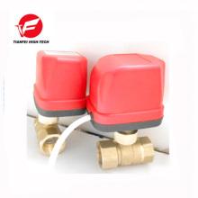 AC220V AC24V latón CWX-50k instala rápidamente la válvula eléctrica de bajo precio en lugar de la válvula solenoide