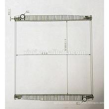 Верхний паяный алюминиевый радиатор для MAN LINONS COASH (95) 81061016480 11078079