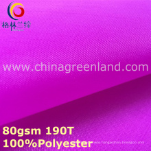 100%Polyester Taffeta Plain Fabric for Garment Pocket (GLLML299)
