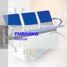 Chaise d'attente en attente Accompaying pour hôpitaux en acier inoxydable à bas prix (THR-YD1030)
