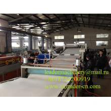 PVC Sheet Extrusion Line Plastic Machinery