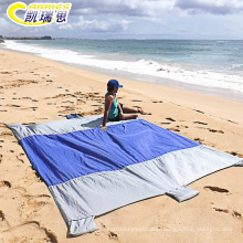 Custom Outdoor Sand Free Waterproof Beach Blanket Mat