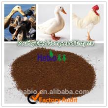 Aditivos de alimentación de enzimas compuestos de aves de corral