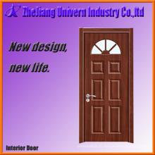 Деревянные входные двери с Матированным стеклом