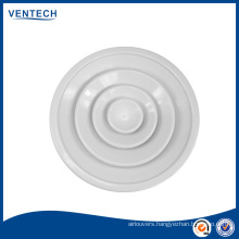 HVAC Supply Round Ceiling Diffuser With Damper