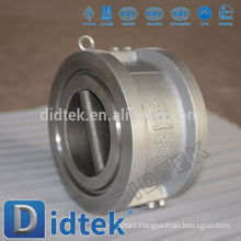 Didtek Zero Leakage Duo Plate Wafer Type Check Valve