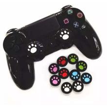 Cat Paw Silicone Analog Controller Thumb Stick Grips Cap Capa para Sony Play Station 4 PS4 Thumbsticks Acessórios de jogo
