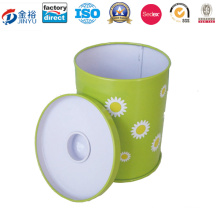 Round Tin Can for Gifts or Teas Jy-Wd-2015120208