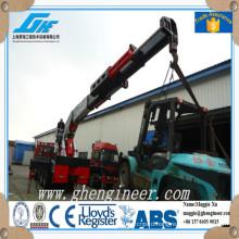50T factory truck mounted hydraulic crane
