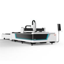 Máquina automática para el intercambio de metales por fibra láser.