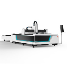 Machine automatique de découpage en métal de laser de fibre de table d'échange