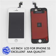 Barato teléfono móvil LCD para el iPhone 5 pantalla LCD con digitalizador