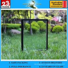 6 + 12A + 6mm Low-E Verre de fenêtre isolé creux tempéré pour fenêtre