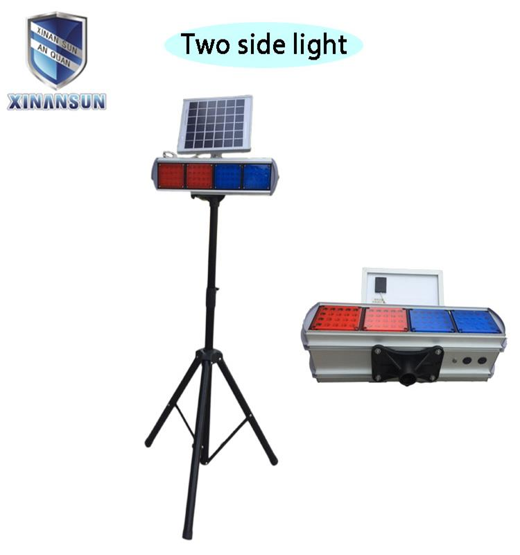 traffic solar warning lamp