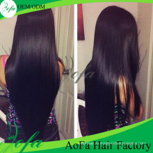 7А класс 100%необработанные девственница прямые волосы человеческие волосы расширение