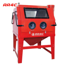 AA4C 1200L Industrial sandblasting cabinet rust removing sandblaster heavy duty sandblast cabinet   AA-SBC1200