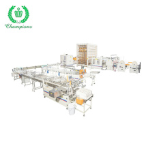 Automatic Colored Gluing Lamination Kitchen Paper Towel Roll Making Machine Production Line