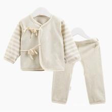 Conjunto de ropa interior de algodón orgánico Conjunto de ropa de bebé