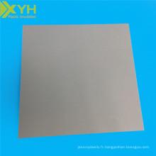 Feuille de plastique d'ingénierie PVC panneau de chlorure de polyvinyle