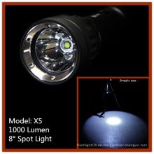 Batteriebetriebene Super Bright Wiederaufladbare LED Tauchblitzlicht