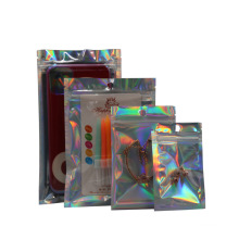 Electric Accessories Products Packaging Bag USB data cable laminated ziplock bags For Phone Case, Earphone, Cable
