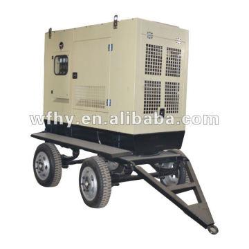 CE & BV Aprroved 100KW Anhänger batteriebetriebene Generator Set