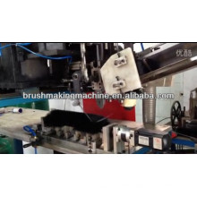 little round rod brush drilling and tufting machine
