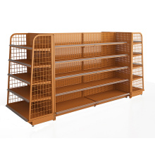 Convenience Store Backplane Shelving Units