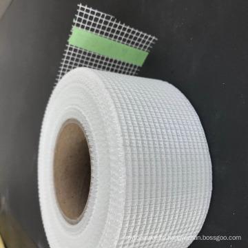 Wall panel joint glass fiber tape