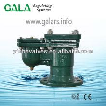 Válvula de ventilación con brida