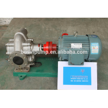 Cast iron, cast steel, stainless steel 304/316 gear oil pump