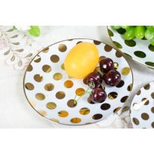 Hochwertiges Steinzeug China Dinner Set Hotel Dessert Teller Keramik